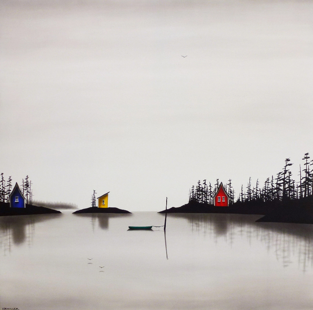 Natasha Miller, 'The Classic Calm of the Canadian Cottage', 2019, Petroff Gallery