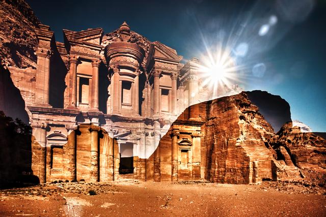 , 'Caravan City (Petra, Jordan),' 2012, Galerie de Bellefeuille