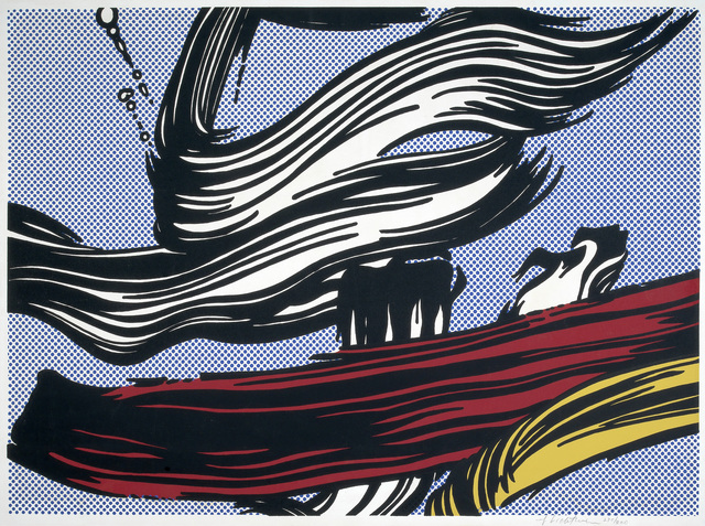 , 'Brushstrokes,' 1967, Sims Reed Gallery