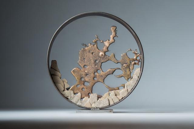 , 'Bronze Splash,' 2017, Crane Kalman Gallery