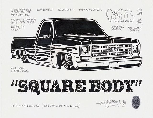 , 'Square Body,' 2017, Black Book Gallery