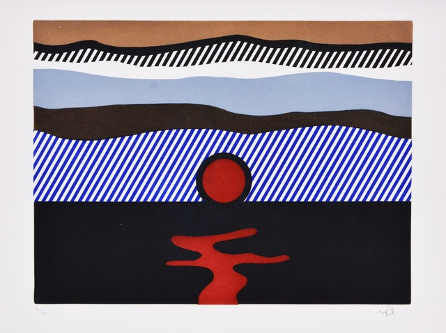 Roy Lichtenstein, 'Illustration for 'De Nouveau au-dessus de Denver', from La Nouvelle Chute de l'Amérique', 1992, Shapero Modern