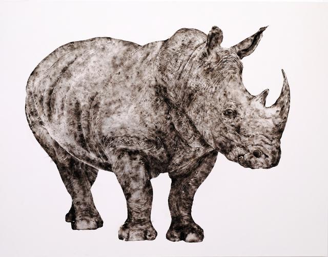 , 'Smoke Rhino,' 2015, Zevitas Marcus