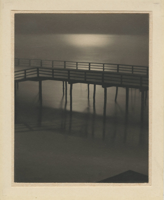 ", '""Arverne, Boardwalk by Moonlight"",' 1912, Lee Gallery"