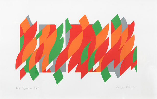Bridget Riley, 'After Rajasthan', 2013, Frestonian Gallery
