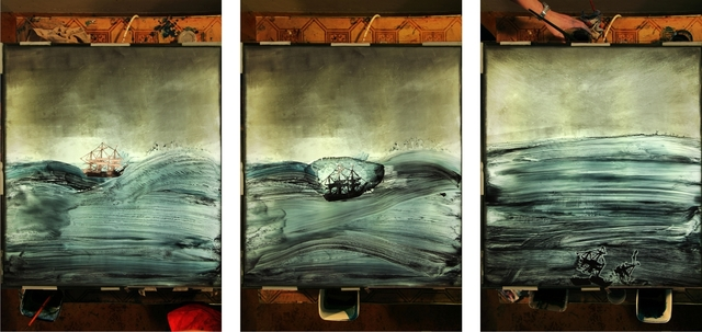 , 'Trade Ship I-III (Triptych),' 2017, Sulger-Buel Lovell