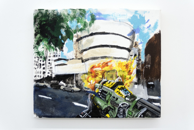 , 'The new show at the Guggenheim is the bomb,' 2015-2019, Tatjana Pieters