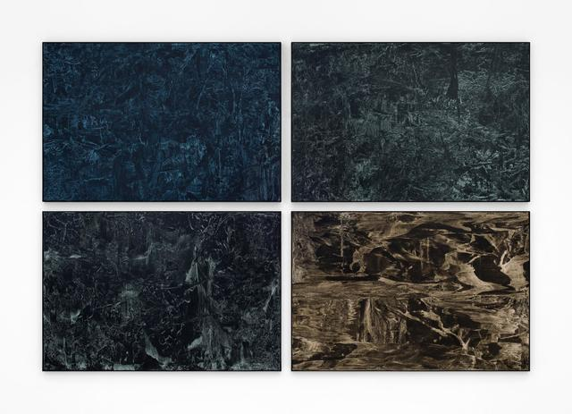, 'Untitled (Black Paintings),' 2016, Almine Rech