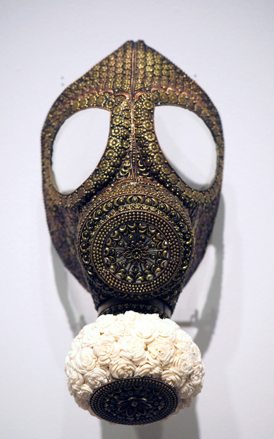 , 'Untitled (Gas Mask for the Rich and Famous),' 2019, Aicon Gallery