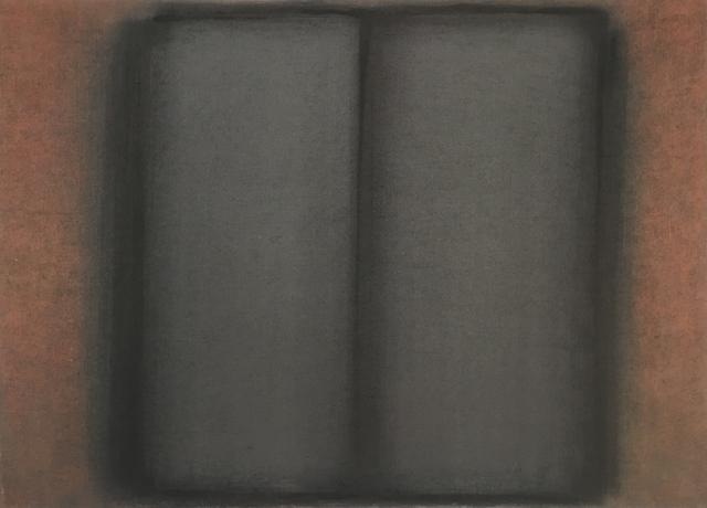 , 'Rost-schwarz (geteilt),' 1989, Sebastian Fath Contemporary