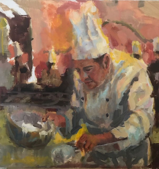 , 'The Pastry Chef,' 2018, Meyer Vogl Gallery
