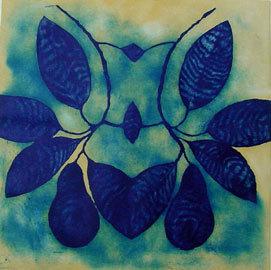 George Mead Moore, 'Aguacate azul', 2002, Galería Quetzalli