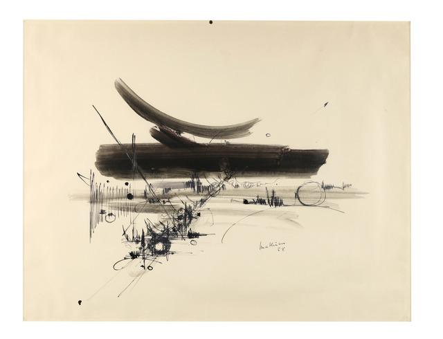 , 'Composition,' 1958, Dellupi Arte