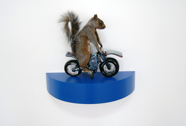 , 'The Squirrels - blue,' 2018, Exhibit A