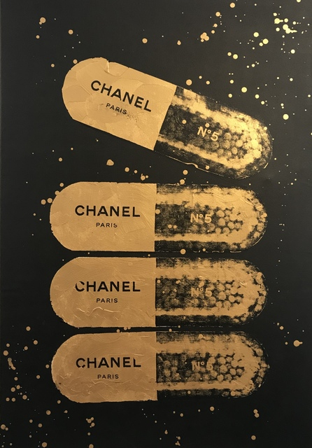 , 'A Golden Chanel a Day,' 2018, Imitate Modern