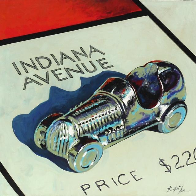 , 'Indiana Racecar,' 2016, Artspace Warehouse