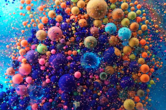 , 'colored oil 085,' 2016, KANA KAWANISHI GALLERY