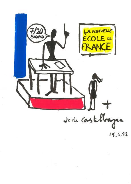 , 'La nouvelle école de France,' 2012, Galerie Slika