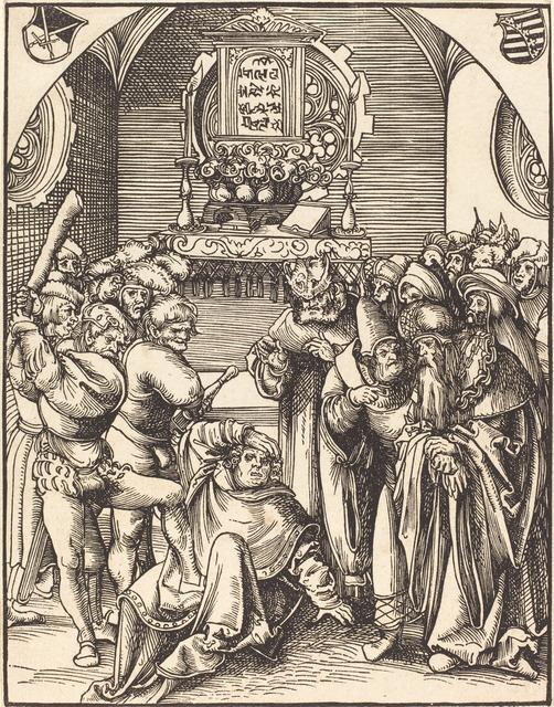 Lucas Cranach the Elder, 'Saint Jude', Print, Woodcut, National Gallery of Art, Washington, D.C.
