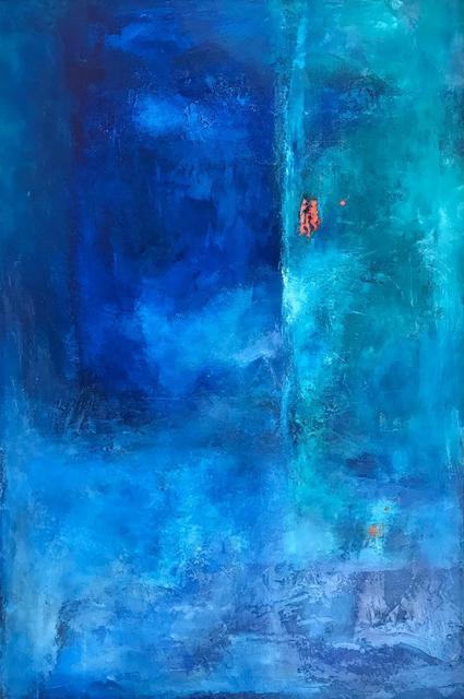 , 'Blue Sunset,' 2018, Ginger Fox Gallery