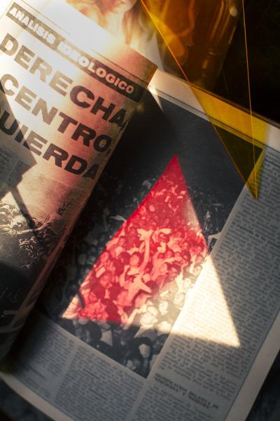 , 'Derecho, Centro, Izquierda,' 2017, Silver Eye
