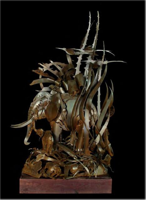 , 'Elephant with Birds,' 2006, Bernice Steinbaum Gallery