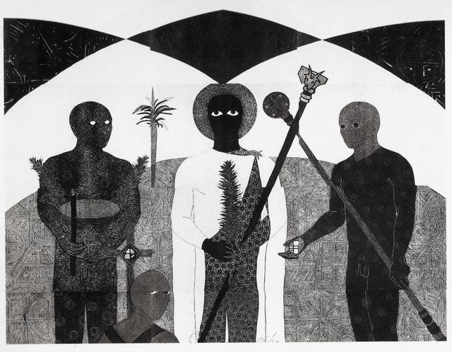 , 'La consagración II (The Consecration II),' 1991, Fowler Museum at UCLA