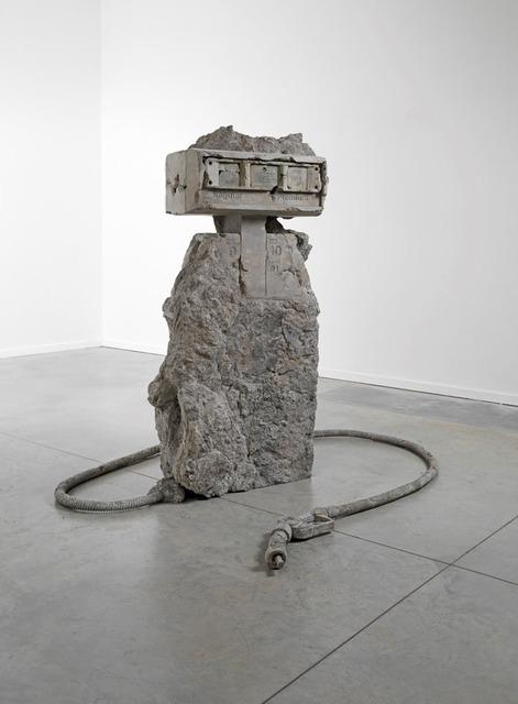 , '2 Hose Petrified Petrol Pump,' 2012, Simon Lee Gallery