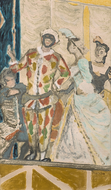 Maurice Brianchon, 'Les Piccoli', 1950, Drawing, Collage or other Work on Paper, Pastel on paper (framed), Rago/Wright