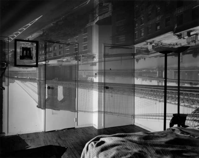 , 'Camera Obscura: The Brooklyn Bridge in Bedroom,' 1999, Huxley-Parlour