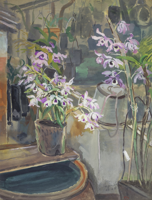 , 'Orchids and Bucket,' 1955, Liang Gallery