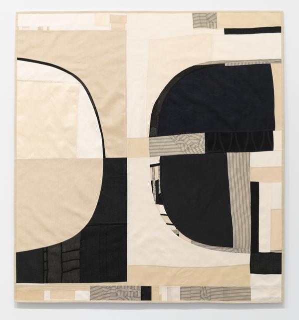 Debra Smith, 'Conversation Shift', 2019, Mixed Media, Pieced vintage silk, Haw Contemporary