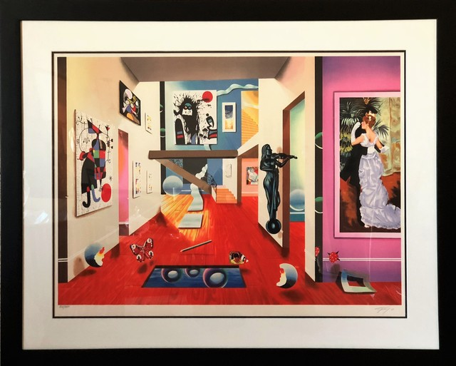 Ferjo, 'Homage to the masters - Limited Edition Lithograph by Ferjo', 2000, Newport Brushstrokes Fine Art