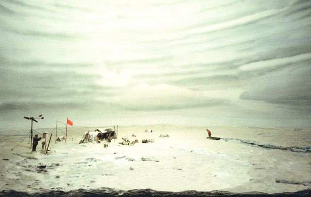 , 'CP-1 Station on Drifting Ice, Arctic Pole (1938),' 2000, Gallery Luisotti