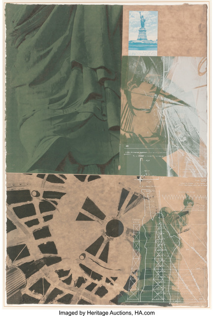 Robert Rauschenberg, 'Statue of Liberty, from the New York, New York portfolio', 1983, Heritage Auctions