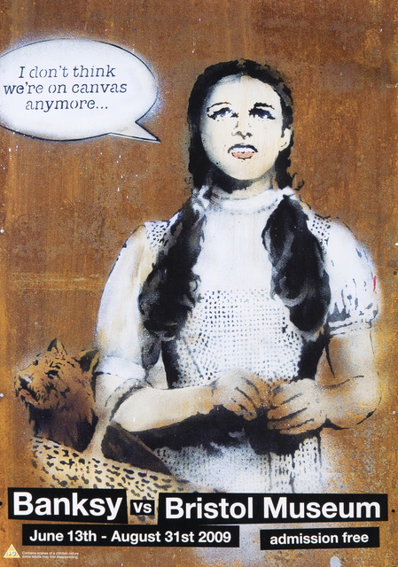 Banksy, 'A collection of four Banksy vs Bristol Museum exhibition posters', 2009, Tate Ward Auctions