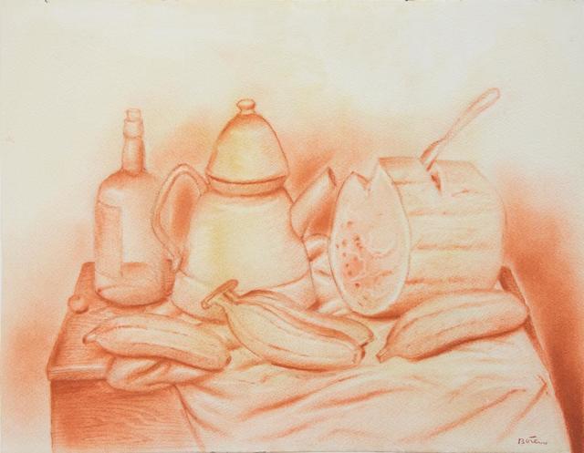 , 'Still life with Watermelon ,' 1980-1985, Galería Duque Arango