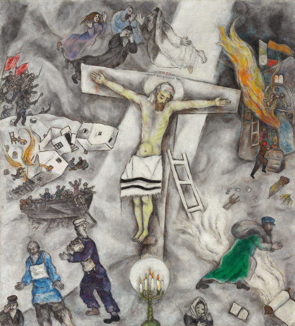 Marc Chagall, 'White Crucifixion', 1938, Art Institute of Chicago
