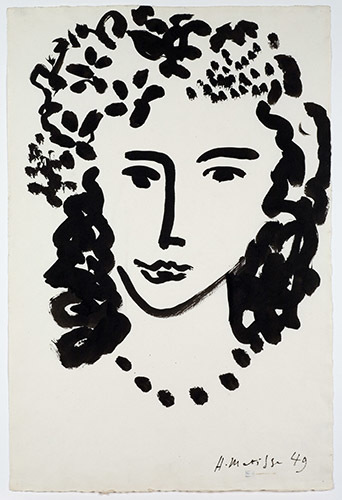 , 'Large head,' 1949, American Federation of Arts