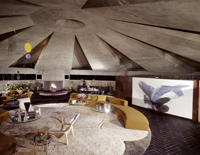 , 'Elrod House - Warming Hearth,' 1968, CODA Gallery