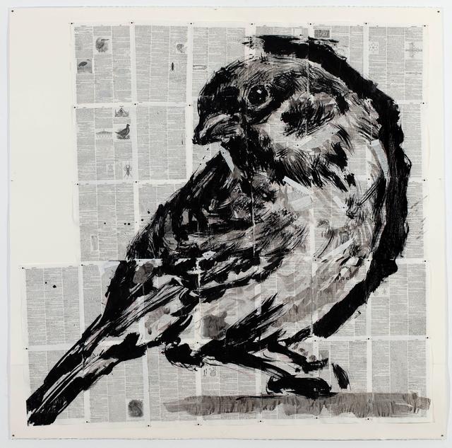 , 'Untitled (Eurasian Tree Sparrow),' 2016, Goodman Gallery