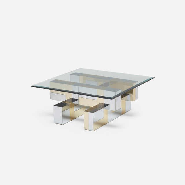Paul Evans, 'Cityscape coffee table from the PE 200 series', c. 1975, Wright