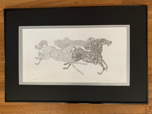 Guillaume Azoulay, 'Tenue', 2016, Print, Etching, Leviton Fine Art