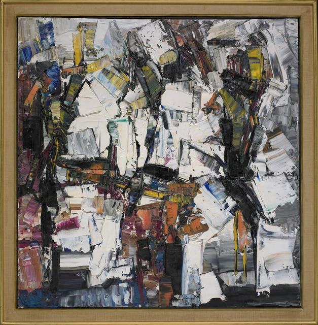 Jean-Paul Riopelle, 'Plage (Peinture),' 1960, Yale University Art Gallery