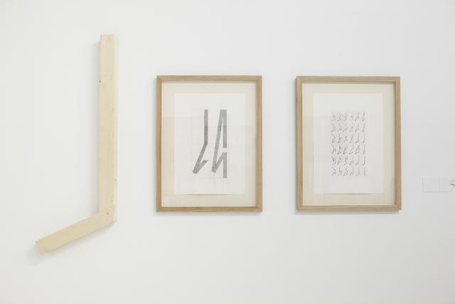 , 'Six Points Angular Lines - Part 1,' 2013, Gallery Isabelle van den Eynde