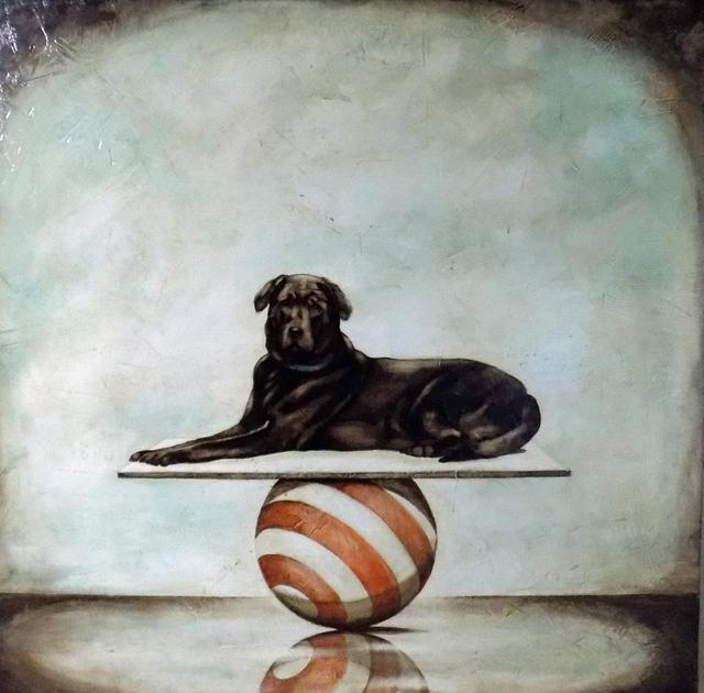 , 'Having a Ball 54,' 2019, Shain Gallery