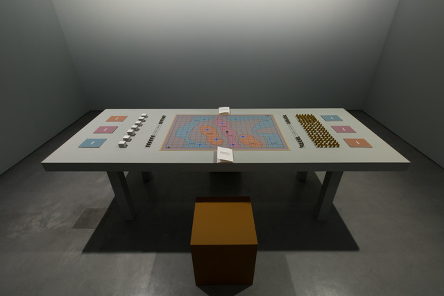 , 'Larderello: the board game,' 2014, Carroll / Fletcher