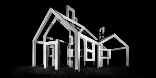 , 'Ghost Village,' 2016, Triangle