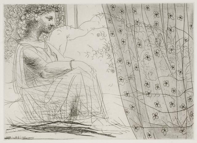 , 'Minotaure Endormi Contemple par une Femme,' 1933, Odon Wagner Gallery