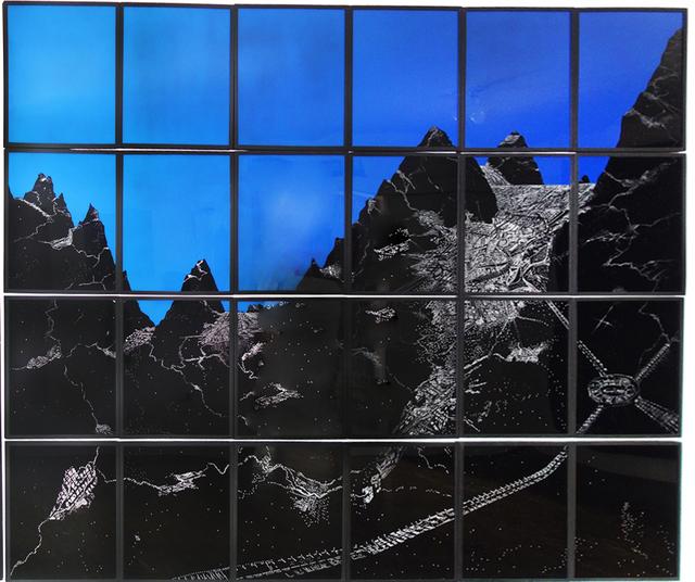 , 'Paisaje de polvo,' 2014, Nueveochenta